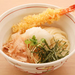 能古うどん - 料理写真:おろしえび