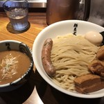 麺屋武蔵 虎洞 - 濃厚肉虎洞つけ麺‼️麺500g‼️
