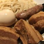 麺屋武蔵 虎洞 - 味玉‼️角煮3枚‼️虎のしっぽ=ソーセージ‼️