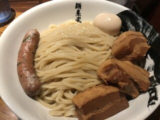 麺屋武蔵 虎洞 - 濃厚肉虎洞つけ麺‼️1500円‼️麺500g‼️