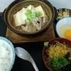 江戸家 - 料理写真:肉豆腐定食 小そば付(¥750/込)