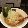 也 - 料理写真:豚骨醤油らーめん750円 +しろねぎT.P100円