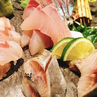 熟成魚と今が旬の魚アリ〼
