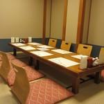 天ぷら 船橋屋 - 本店個室