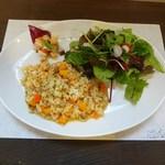 Little cucina Yume - 玄米リゾットのサラダセット