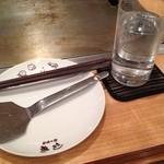 お好み焼 きじ - テーブルセッティング