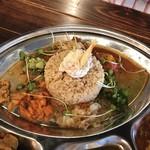 カリー ガガ - 皇室御用達の献上米『玄米』が プチプチで美味しい❣️