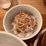 茶青花 - 豆腐サラダ