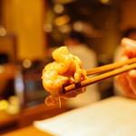 ぽんしゅや 三徳六味 - 鶏肉ぷるぷる