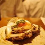 ぽんしゅや 三徳六味 - 岩牡蠣