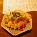 ぽんしゅや 三徳六味 - ゲソ・リンゴ酢味噌和え