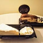 The Cheesecake Factory - オリジナルとオレオ ドリーム エクスリーム チーズ