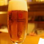 ぽんしゅや 三徳六味 - とりあえずビール