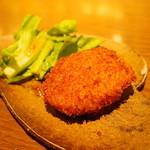 ぽんしゅや 三徳六味 - 蟹クリームコロッケ