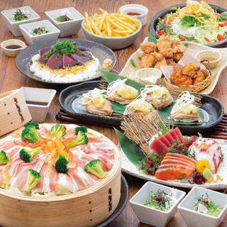 宴会を彩る創作料理!様々なコースをご用意!