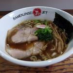 ラーメン人生JET600 - 料理写真:醤油ラーメン 58杯目