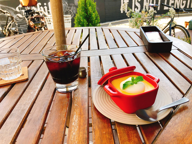 シュヴァルカフェの料理の写真