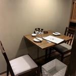 初代炙り家 弌  - テーブル席(2名様)