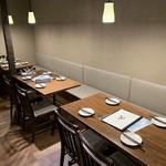 初代炙り家 弌  - テーブル席