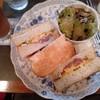 珈琲苑 - 料理写真:コンビーフとたまご