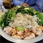 福島壱麺 - モツ鍋