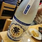 福島壱麺 - 繁桝 夏に夢る雪 純米大吟醸 にごり酒(福岡県)