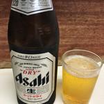 とんかつ美よし - 瓶ビール 500円