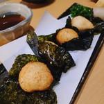 日本酒個室バル 蔵ノ助 - 山芋の磯辺焼き