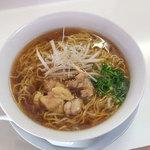 佐藤商店 - 料理写真:「鶏中華そば(大盛り)」(700円)。