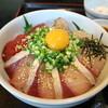 魚屋の寿司 東信 - 料理写真:マグロとブリの漬け丼です☆ 2019-0623訪問