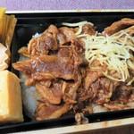 イーション - シャキシャキ生姜でさっぱり!イベリコ豚重 これ大好きなんです(^^♪