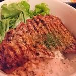okinawaizakayaparadaisu - サーロインステーキ丼