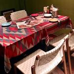 ラ エスキーナ - カラフルで可愛いテーブルクロス♡