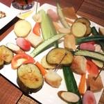 Bistro flatcafe - いろいろ野菜のロースト