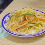 穆撒 蘭州牛肉拉麺 - 土豆丝