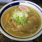 森清 - 料理写真:腹脂塩ラーメン 大!どうせ美味いだろう。