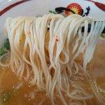 一味ラーメン - 細ストレート麺とのハーモニー