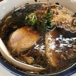 鶏口 - 料理写真:黒鶏そば   800円