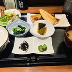 簾 - ランチ 焼き鯖定食