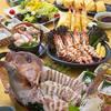魚河岸料理 ざこば - 料理写真:真鯛の姿造り・大海老塩焼きなど!お祝いのご宴席にも!『魚河岸宴会コース』