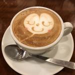 イナズマ カフェ - カプチーノ