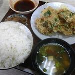 天八 - 鶏ニラ揚げ定食 530円