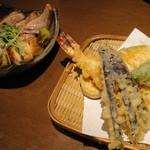 11032389 - 天ぷら、鴨