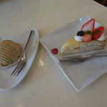 カフェ プラド - ケーキ達