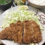 とんかつ繁 - ロースカツ定食1300円