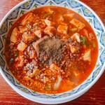 中華麺食堂 かなみ屋 - 料理写真:四川麻婆麺 麺少なめ 980円