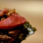鮨 猪股 - マグロ全部巻き