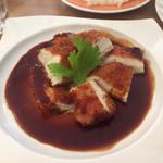 レストラン Time - チキンカツ(オサレです)