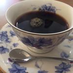 レストラン Time - コーヒー(器が高そう)
