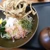 月うさぎ - 料理写真:ぶっかけごぼう天760円